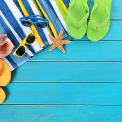 attachmentBeach scene with blue wood decking