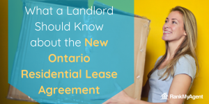 What a landlord should know about the new Ontario residential lease agreement
