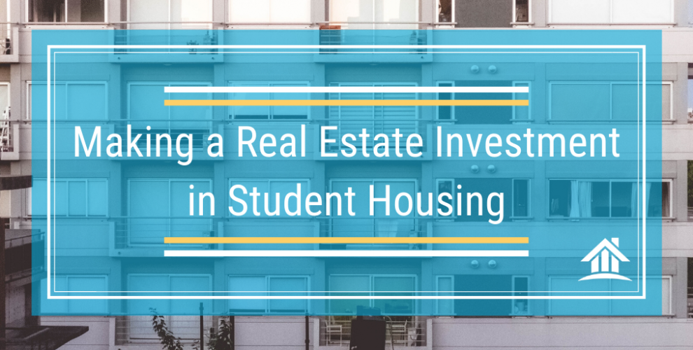 Is investing in student housing a good investment return on investment examples marketing plan